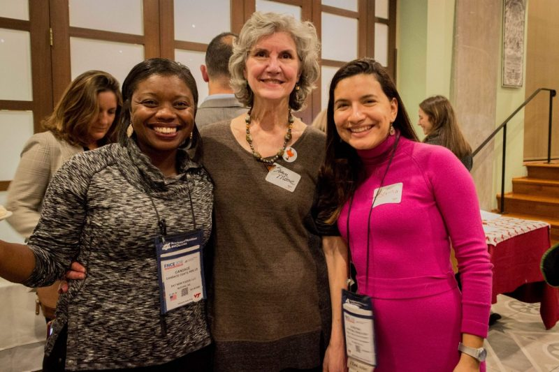HNFE alumni at event in Northern Virginia 2019